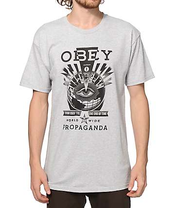 Obey Til The End T-Shirt