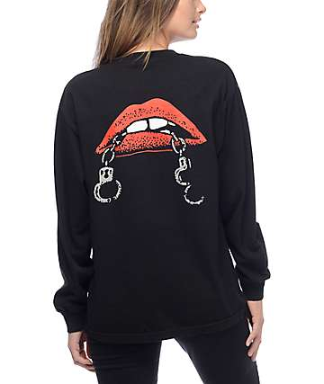 Obey Tough Love Black Long Sleeve T-Shirt
