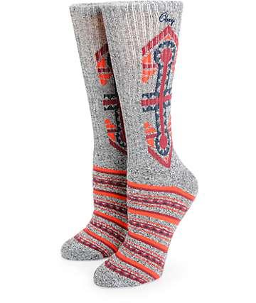 Obey Valencia Crew Socks