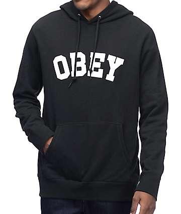 Obey Watson Black Hoodie