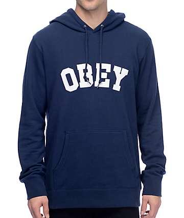 Obey Watson Navy Hoodie