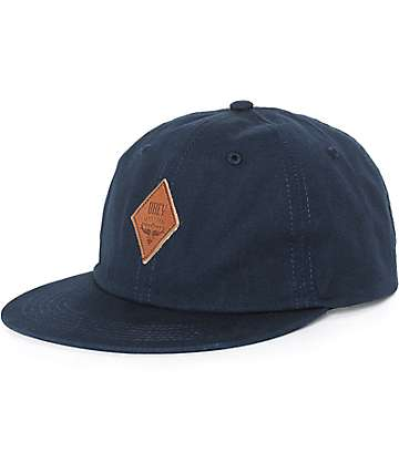 Obey Wiley Throwback Baseball Strapback Hat
