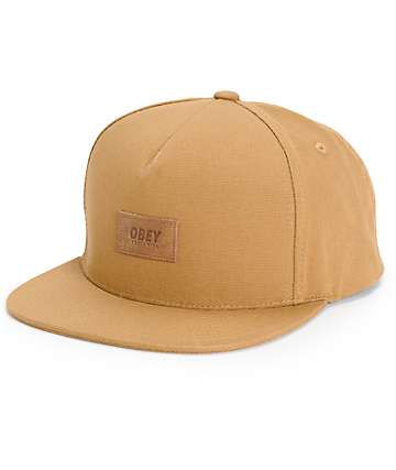 Obey Worker Snapback Hat