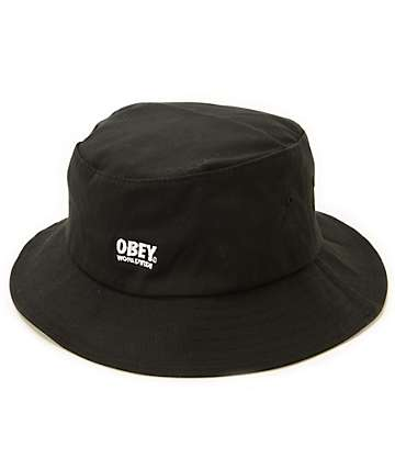 Obey Worldwide II Bucket Hat