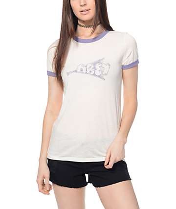 Obey Zippy Ringer T-Shirt