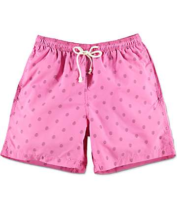 Odd Future Allover Donut Pink Board Shorts