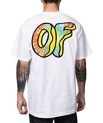 Odd Future Awesome Donut White T-Shirt