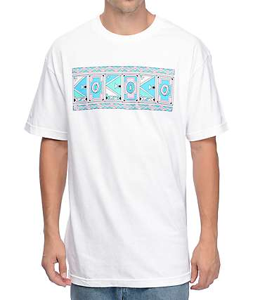 Odd Future Aztec Logo White T-Shirt