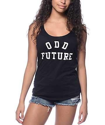 Odd Future Black Track Tank Top