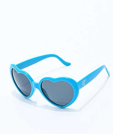 Odd Future Blue Heart Sunglasses