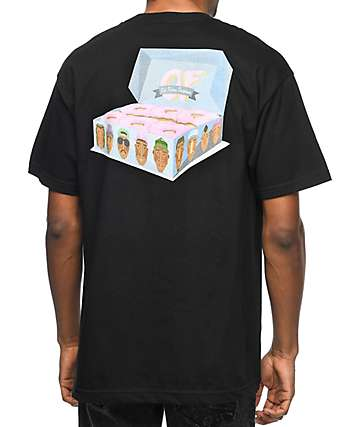 Odd Future Box Of Donuts Black T-Shirt