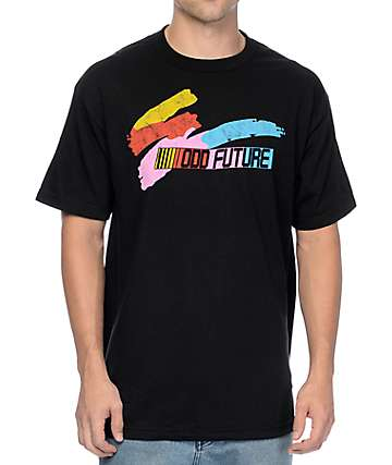 Odd Future Color Splash Bar Black T-Shirt