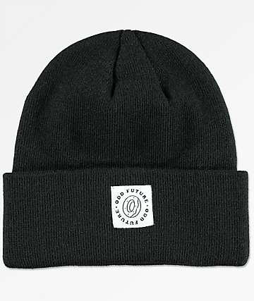 Odd Future Cuff Patch Black Beanie