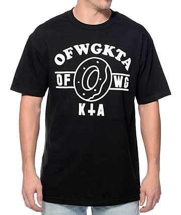 Odd Future Donut KTA Logo Black T-Shirt