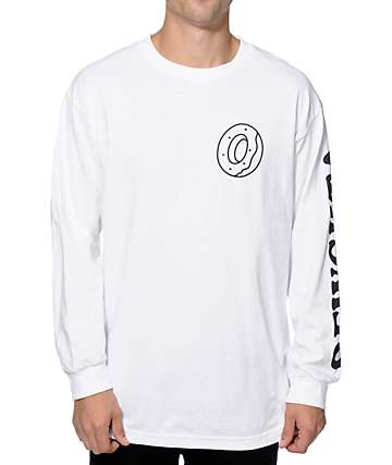 Odd Future Donut OFWGKTA Long Sleeve T-Shirt