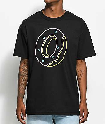Odd Future Donut Outline Black T-Shirt