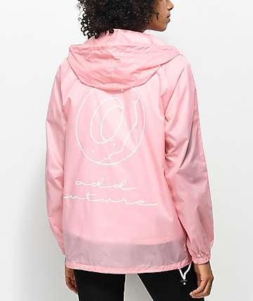 Odd Future Donut Pink Anorak Jacket