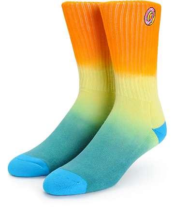 Odd Future Donut Tie Dye Crew Socks