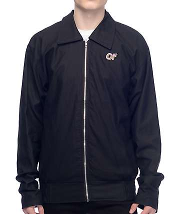 Odd Future EMB Garage Twill Black Jacket