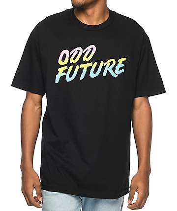 Odd Future Gradient Black T-Shirt