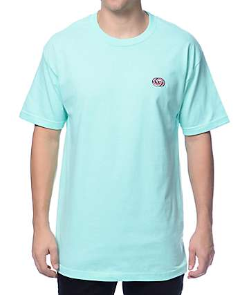 Odd Future Infinity Donut Embroidered Mint T-Shirt