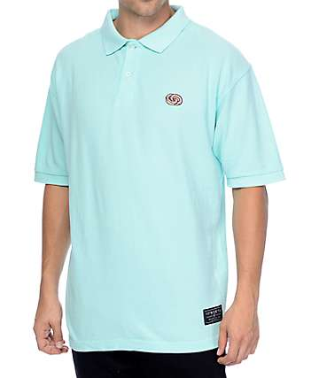Odd Future Infinity Logo Mint Polo Shirt