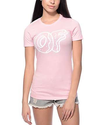 Odd Future Logo Light Pink T-Shirt