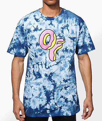 Odd Future OF Donut Tie Dye T-Shirt