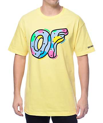 Odd Future OF Logo Lemon Yellow T-Shirt