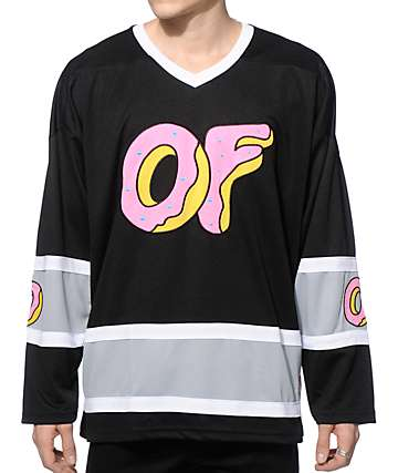 Odd Future OF Logo Mesh Hockey Jersey