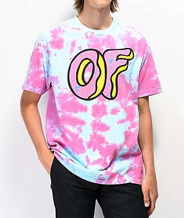 Odd Future OF Logo camiseta en tenido anudado