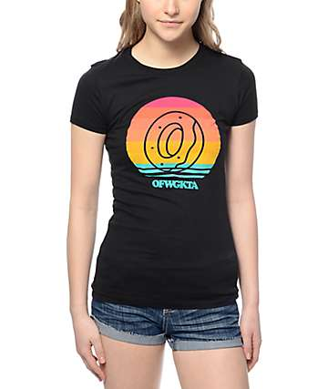 Odd Future OF Sunset Circle Black T-Shirt