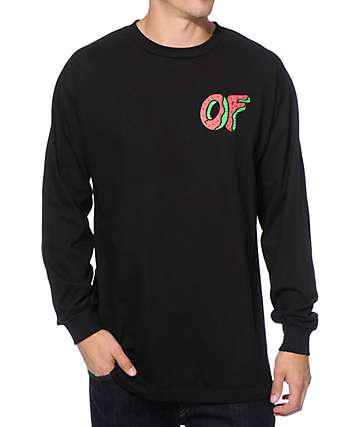 Odd Future OF Watermelon Long Sleeve T-Shirt