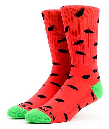 Odd Future OFWGKTA Watermelon Crew Socks