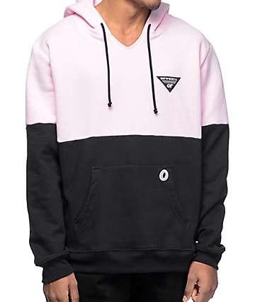 Odd Future OFWGKTA sudadera con capucha en rosa y negro