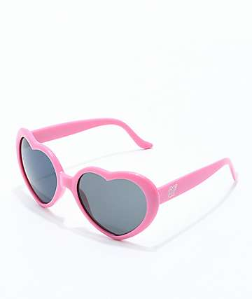 Odd Future Pink Heart Sunglasses