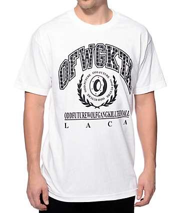 Odd Future Polka Dot OFWGKTA LACA White T-Shirt