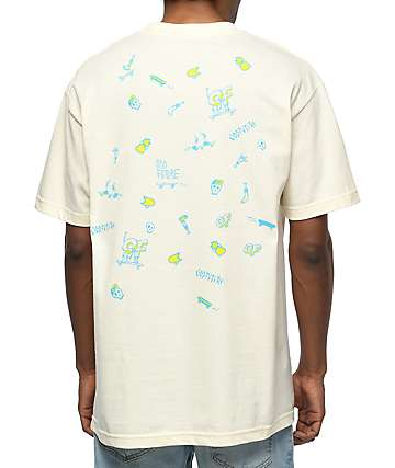 Odd Future Skates Cream T-Shirt