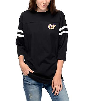 Odd Future Striped Football T-Shirt