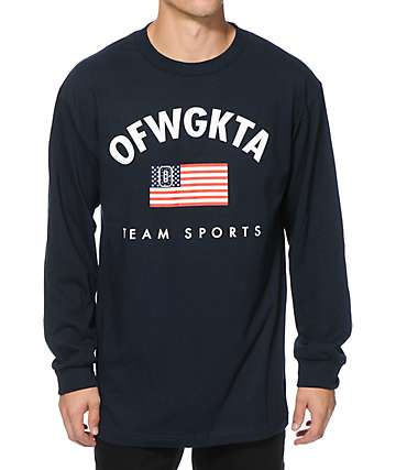 Odd Future Team Sports Long Sleeve T-Shirt