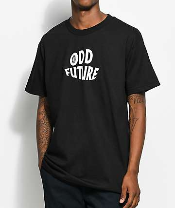Odd Future The Future Is Wavy camiseta negra