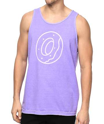 Odd Future Tonal Donut Purple Tank Top