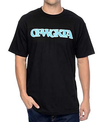 Odd Future Turquoise OFWGKTA Logo Black T-Shirt