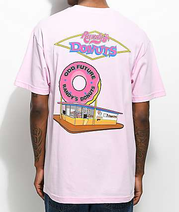 Odd Future X Randy's The Spot camiseta rosa