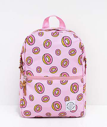 Odd Future mini mochila rosa