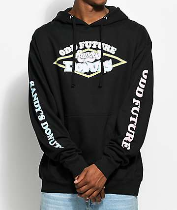 Odd Future x Randy's Donuts Signs Black Hoodie