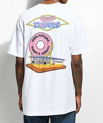 Odd Future x Randy's Donuts The Spot White T-Shirt