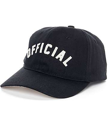 Official Ark Black Strapback Hat