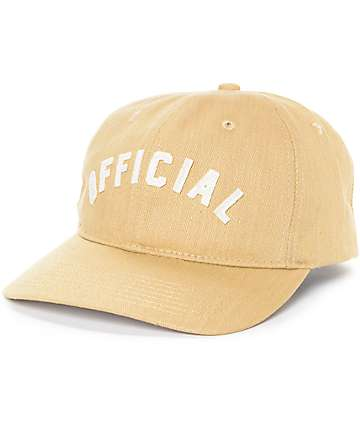 Official Ark Khaki Strapback Hat