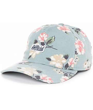 Official Blackpool gorra strapback en azul floral